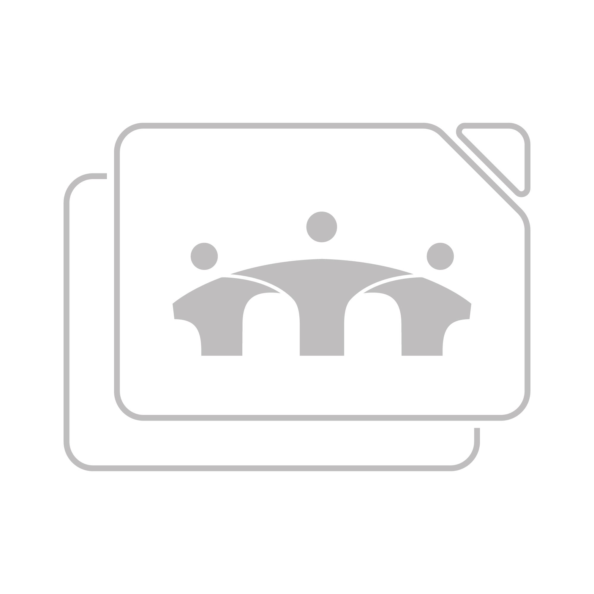 B-Tech Professional Extra-Large Universal Flat Screen Trolley - white