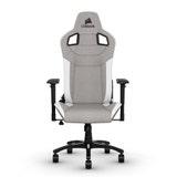 Corsair T3 RUSH, Fabric Gaming Chair, Grey/White