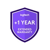 Logitech One year extended warranty for Logitech small room solution with Tap and MeetUp