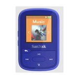 SanDisk Clip Sport Plus 16GB Wearable, Bluetooth MP3 Player Blue