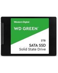 "Western Digital WD Green SATA SSD 2TB 2.5"""